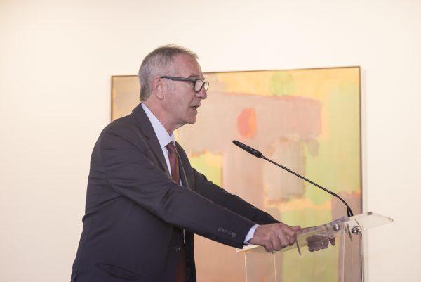 José Guirao, Ministro de Cultura, inaugurando el encuentro